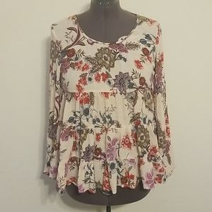 Patrons of Peace Babydoll Top
